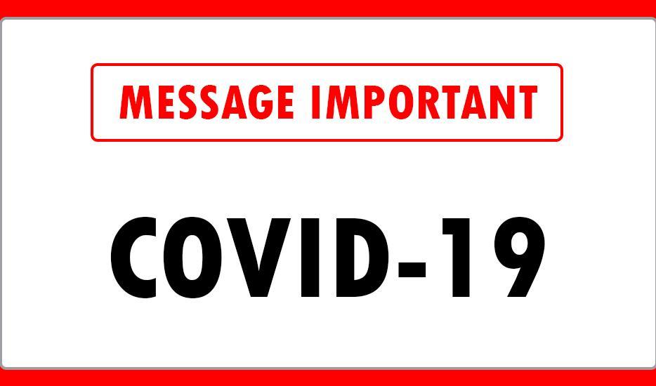 Message covid 19